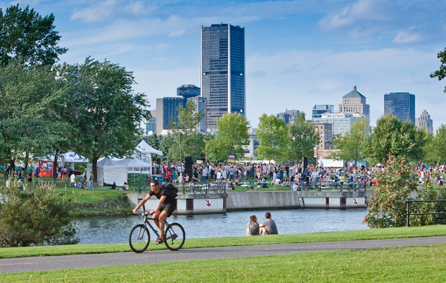 Verão em Montreal
