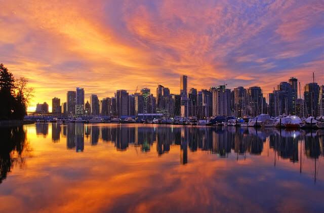 Fuso horário em Vancouver