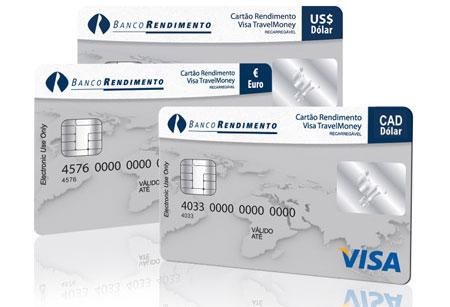 Dólar Canadense do Canadá - Cartão Pré Pago