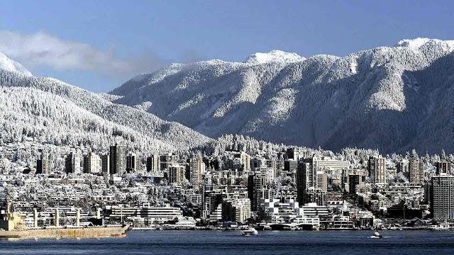 Clima em Vancouver Inverno