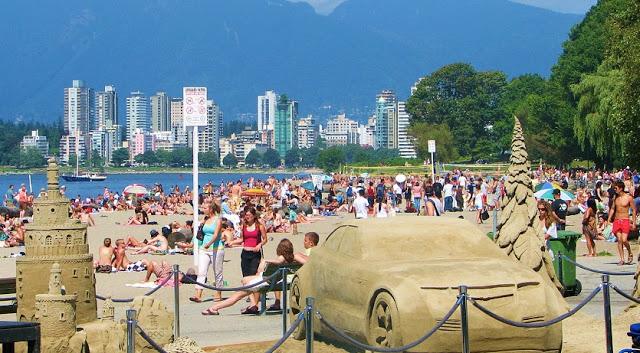 Clima em Vancouver Verão