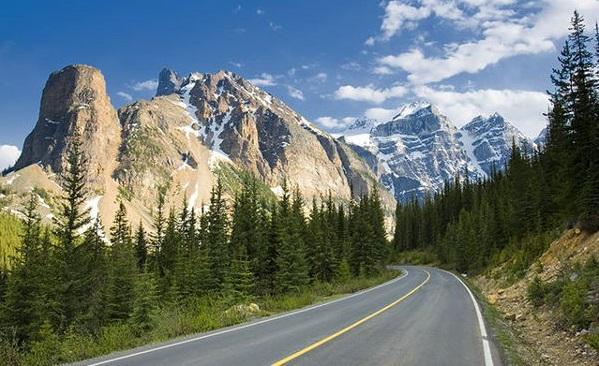 Aluguel de carro no Canadá - Estradas