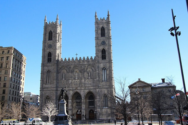 Catedral de Notre Dame em Montreal