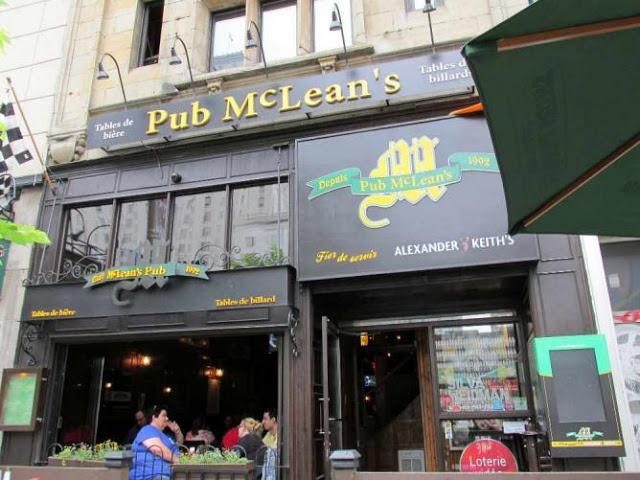 McLean's Pub em Montreal