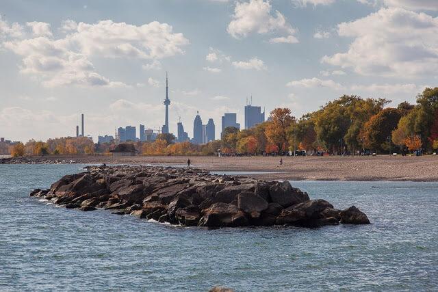 Praias em Toronto