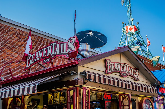 BeaverTails no ByWard Market em Ottawa