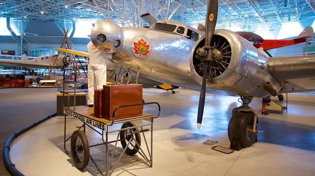 Canada Aviation and Space Museum em Ottawa