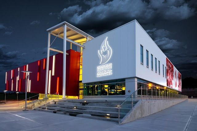 Canadian Olympic Hall of Fame and Museum em Calgary
