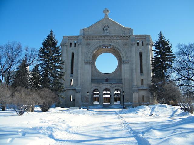 Bairro francês St. Boniface em Winnipeg