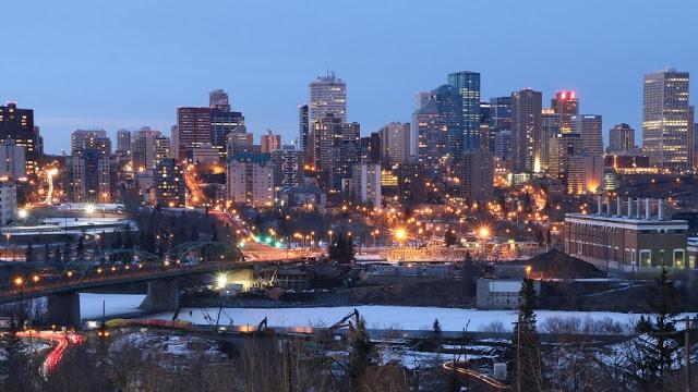 Downtown em Edmonton