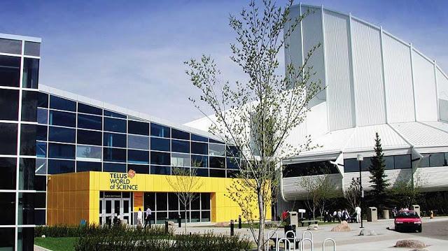 Telus World of Science em Edmonton