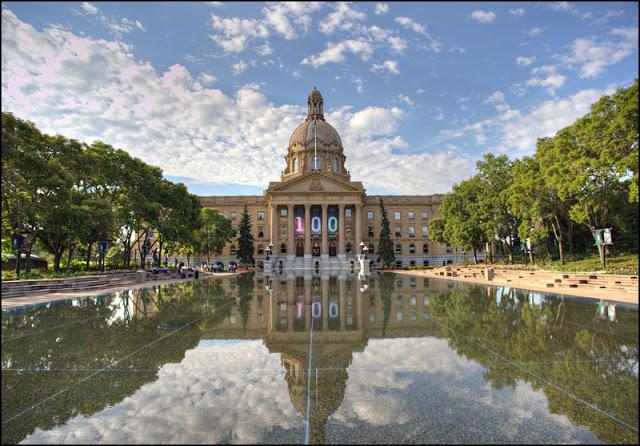 Assembléia Legislativa de Alberta em Edmonton