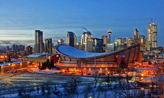 Pengrowth Saddledome em Calgary