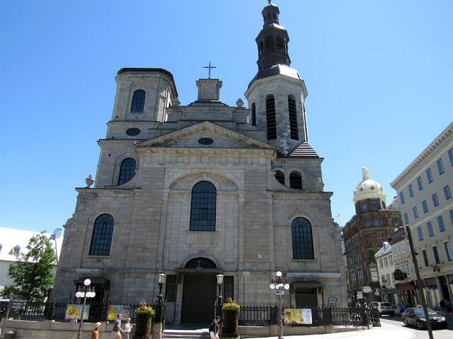 Catedral Basílica Notre-Dame em Quebec
