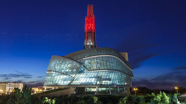 Canadian Museum for Human Rights em Winnipeg