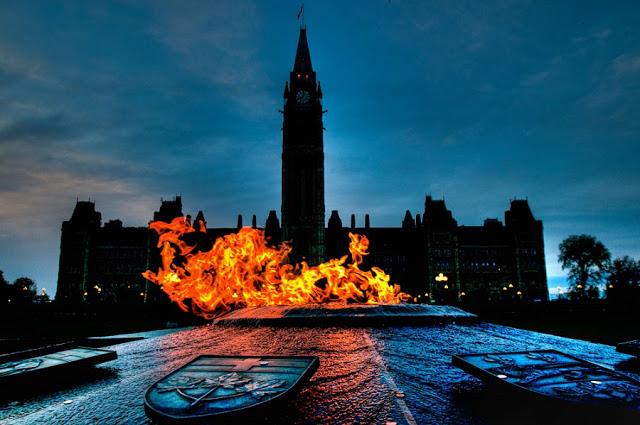 Parliament Hill em Ottawa