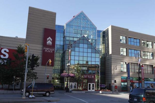 Portage Place Shopping Centre de Winnipeg