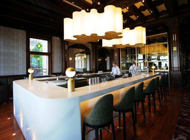 Q Restaurant no Empress em Victoria