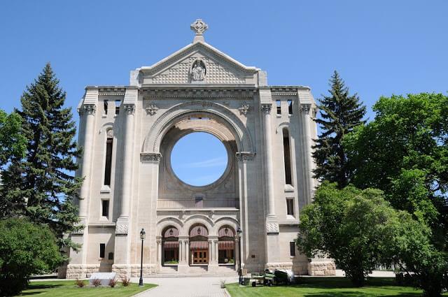 Saint Boniface Cathedral em Winnipeg