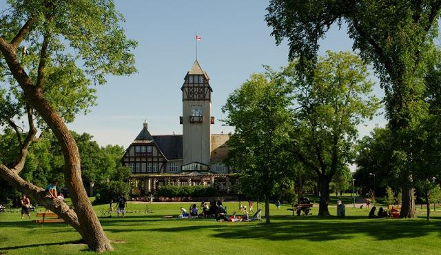Assiniboine Park em Winnipeg