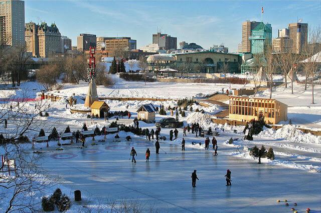 O que fazer no inverno em Winnipeg