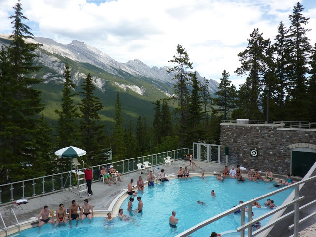 Banff Upper Hot Springs no Canadá
