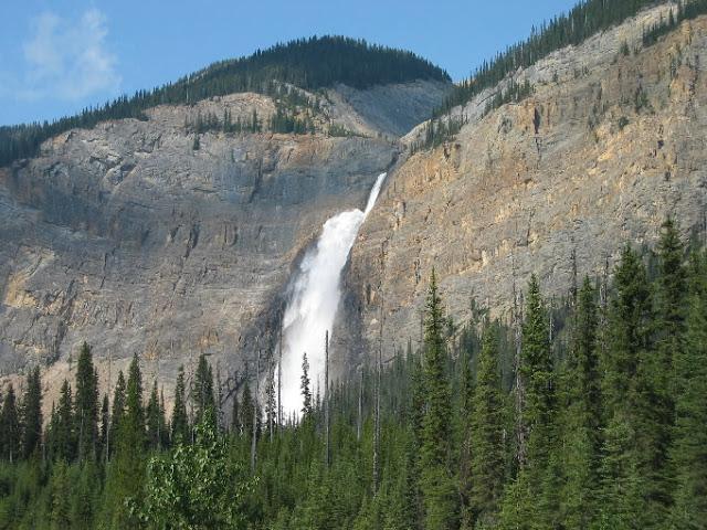 Takakkaw Falls no Parque Nacional de Yoho