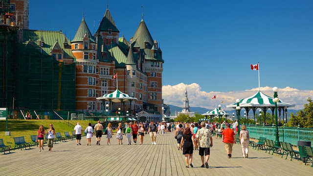 Terrasse Dufferin em Quebec