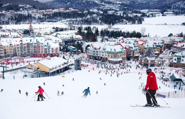 Mont Tremblant no Canadá