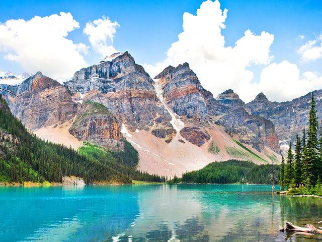 Montanhas Rochosas no Canadá