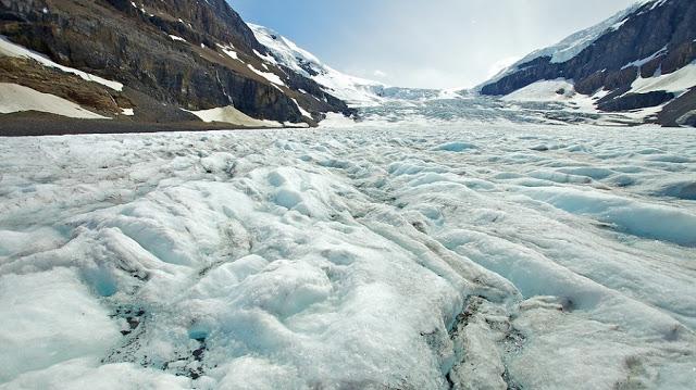 Columbia Icefield no Parque Nacional de Jasper