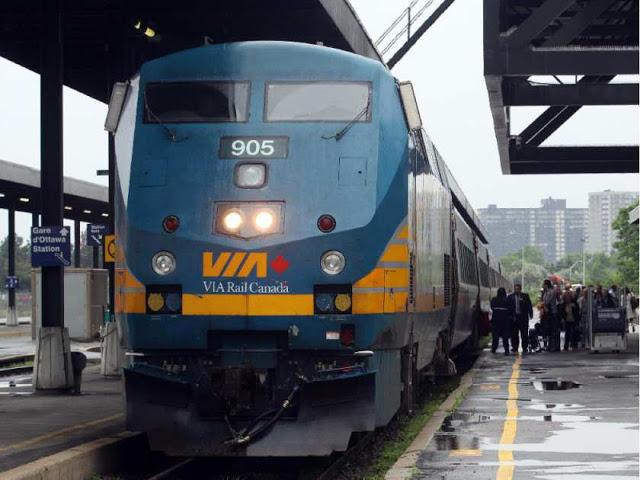 Como ir de Ottawa a Montreal de trem