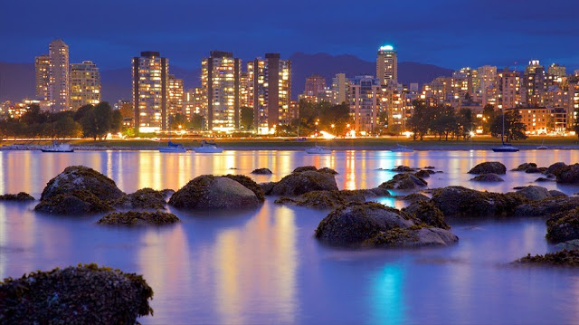 Kitsilano Beach em Vancouver