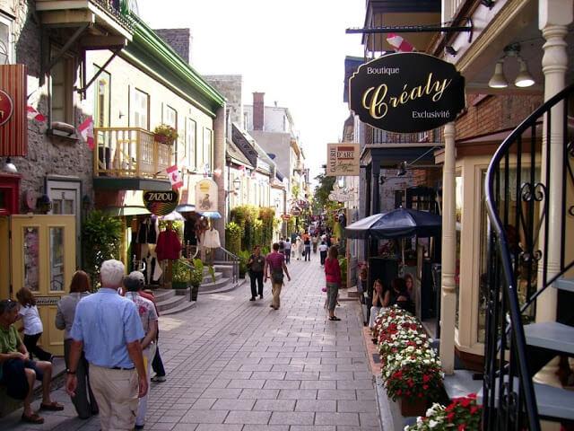 Idioma de Quebec City