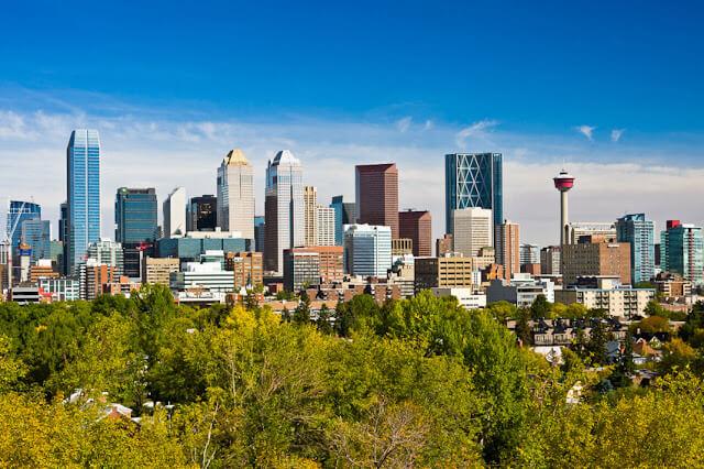 Como ir de Calgary a Edmonton