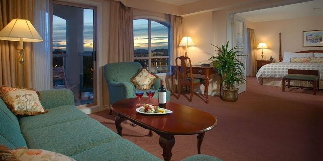 Hotel Grand Pacific em Victoria