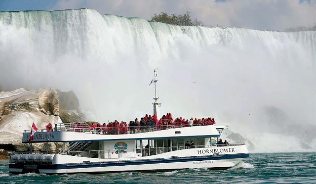 Passeio de barco Hornblower nas Cataratas de Niagara
