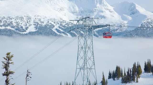 Peak 2 Peak Gondola em Whistler