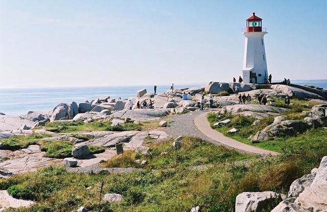 Peggy's Cove em Halifax