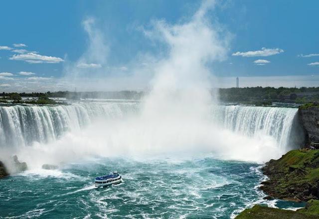 Como andar em Niagara Falls