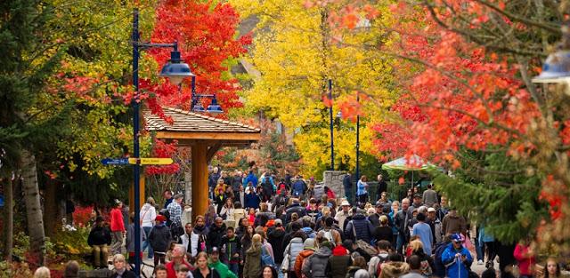 Outono em Whistler