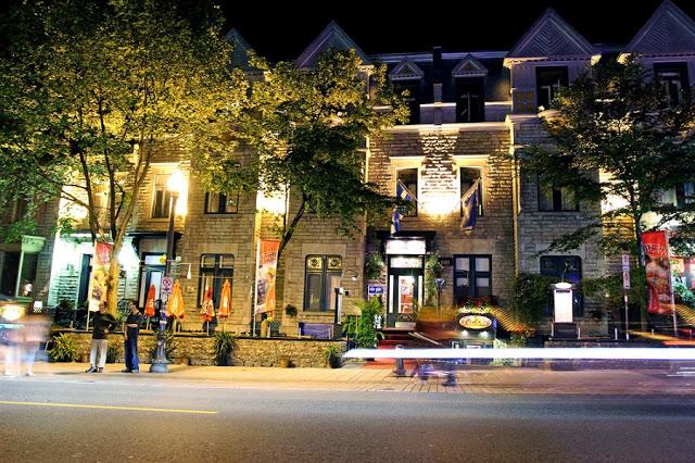 Avenida Grande Allée Est em Quebec
