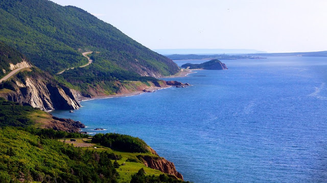 Parque Nacional Cape Breton Highlands no Canadá