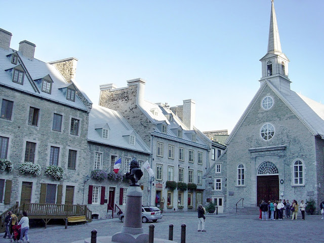 Basílica Notre Dame des Victoires em Quebec