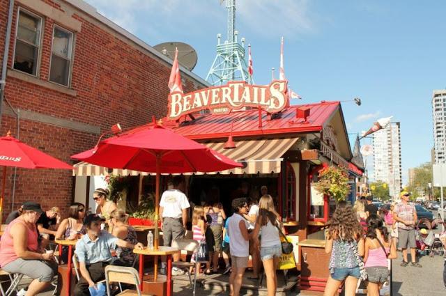 Restaurante BeaverTails em Ottawa