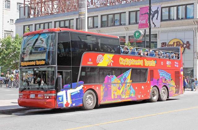 Ônibus turístico em Toronto: Hop-On Hop-Off