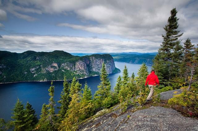 Parque Nacional Fjord-Du-Saguenay no Canadá