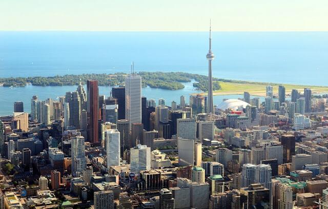 Passeio de helicóptero em Toronto