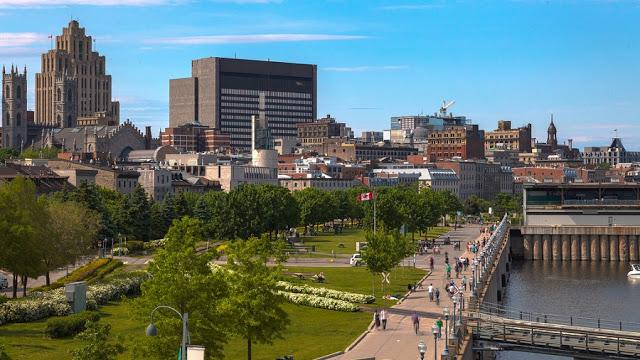 Old Port em Montreal