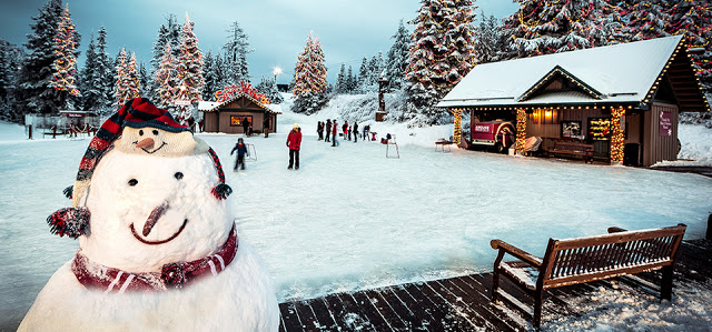 Papai Noel na Montanha Grouse
